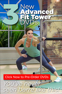 Fit Tower DVDs