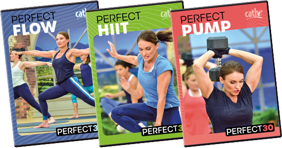 Cathe's Perfect30 Workout DVD