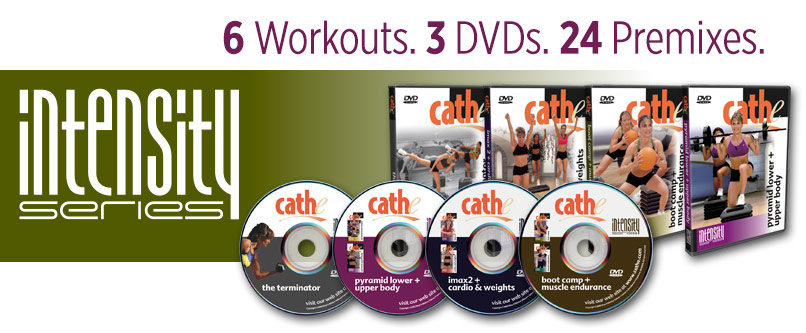 Cathe Friedrich Intensity DVD series for women & men