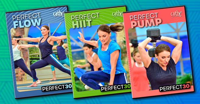 Order Cathe Friedrich's New Perfect30 Workout DVDs for women