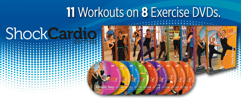 Cathe Friedrich Shock Cardio DVD series for women and men